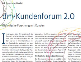 Research Communties - dm-Kundenforum