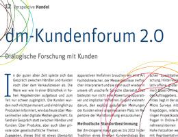 Research Communties - dm-Kundenforum